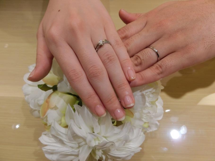 楽しく指輪を選べました