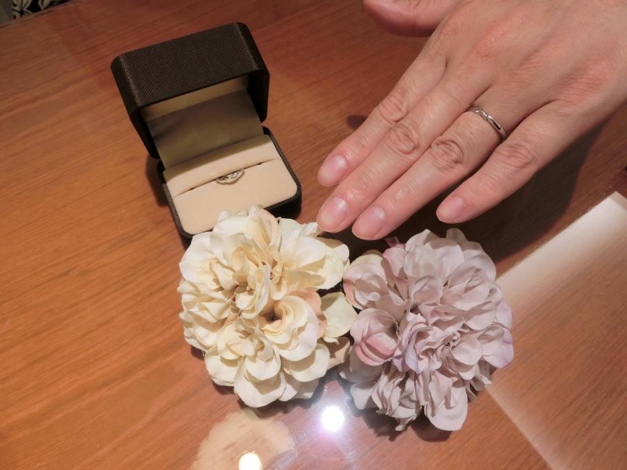 とても可愛い指輪に出会えました。