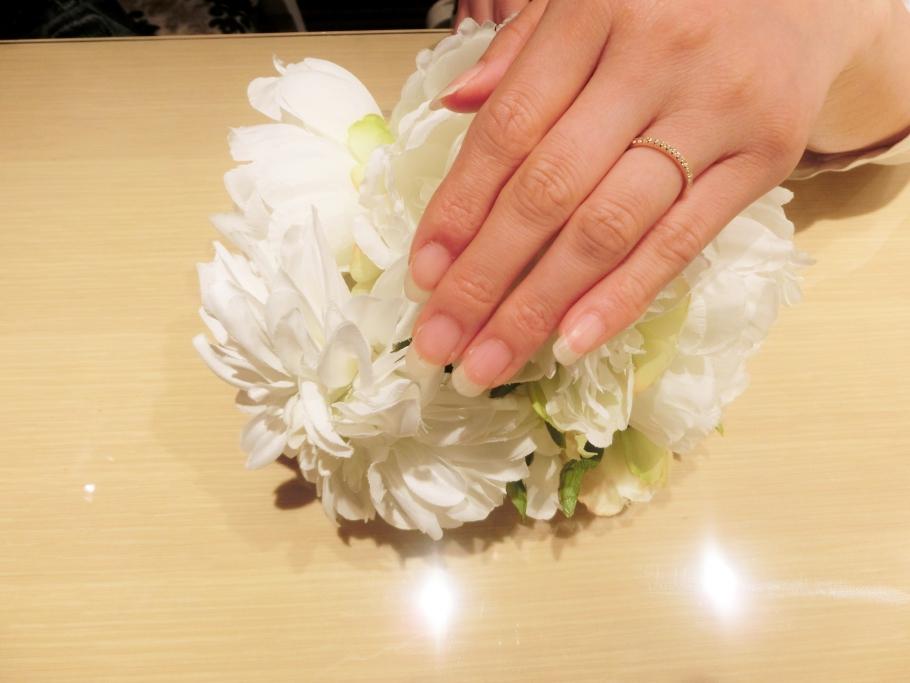 きれいな指輪