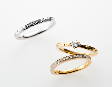 MAXI ハワイアンジュエリー 姫路 結婚指輪 婚約指輪 エタニティリング