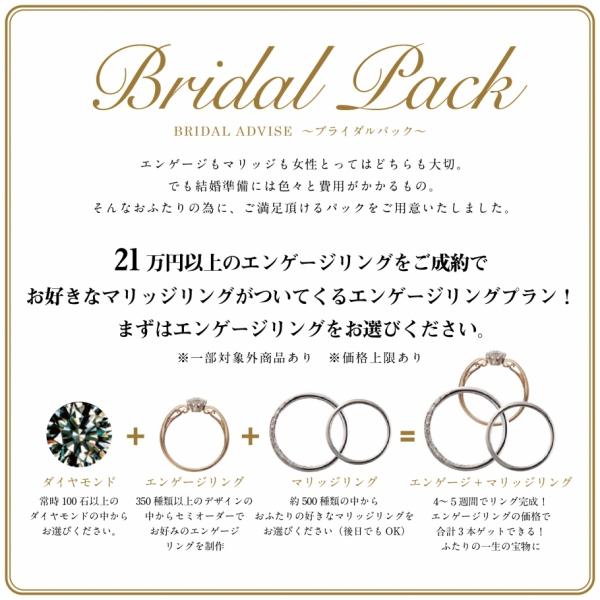 婚約指輪がお得に購入できるプランの説明
