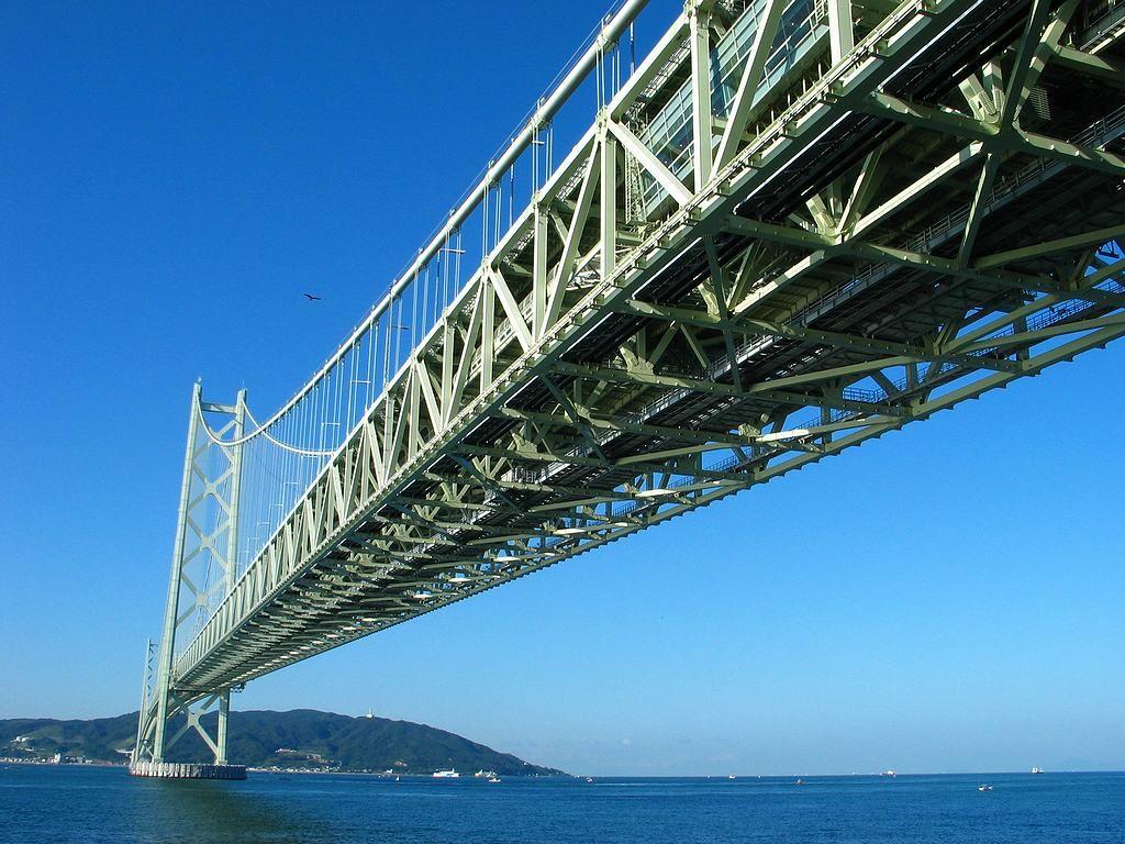 姫路近郊プロポーズスポット 明石海峡大橋