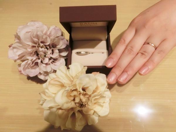 BAUM【バウム】の結婚指輪(マリッジリング)を購入した声
