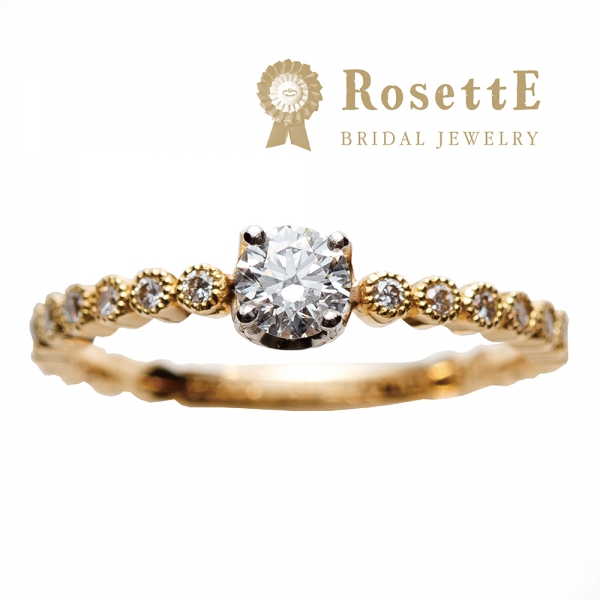 RosettE【ロゼット】DEWDROP/しずくの婚約指輪の姫路の正規取扱店