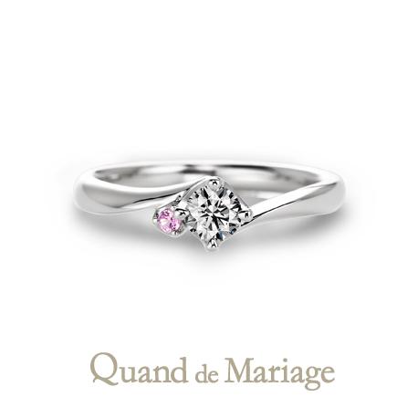 Quand de Mariageドゥブリーズ婚約指輪
