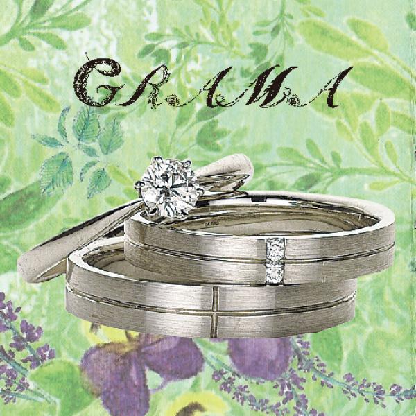 GRAMAカモミール婚約指輪