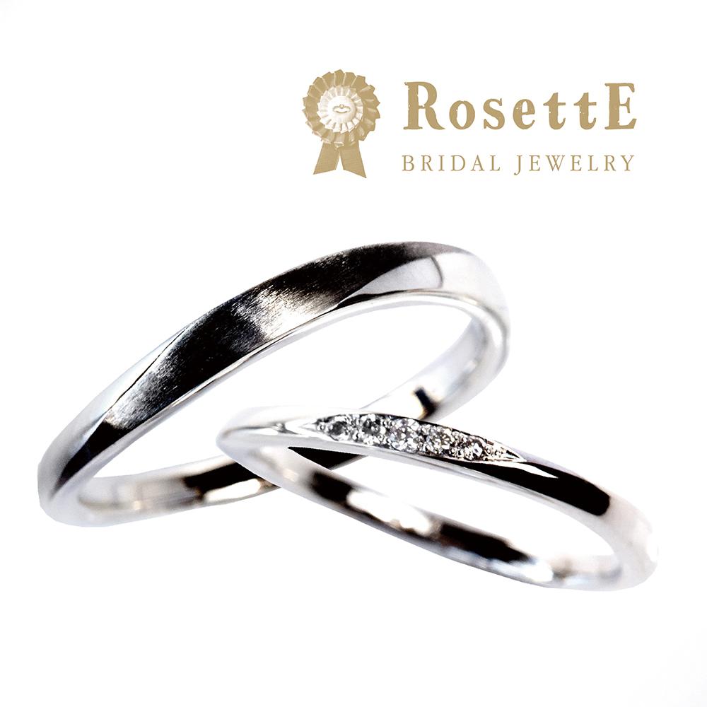 RosettE【ロゼット】月あかり/MOONLIGHTの結婚指輪(マリッジリング)はgarden姫路2