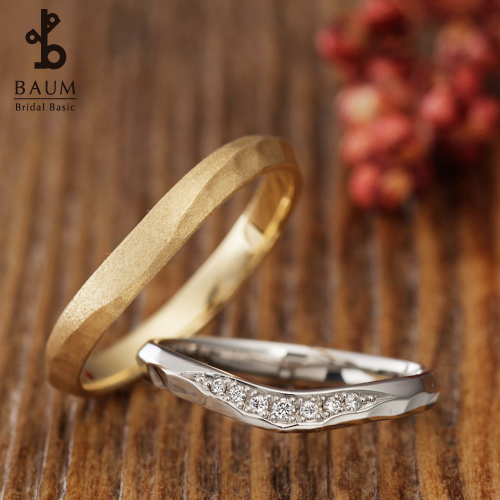 BAUM【バウム】オリーブの結婚指輪の取り扱い店garden姫路