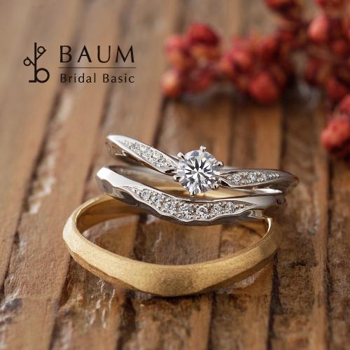 BAUM【バウム】の婚約指輪(エンゲージリング)オリーブの取り扱い店舗garden姫路