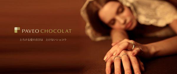 Paveo Chocolat(パヴェオショコラ)のブランドイメージ