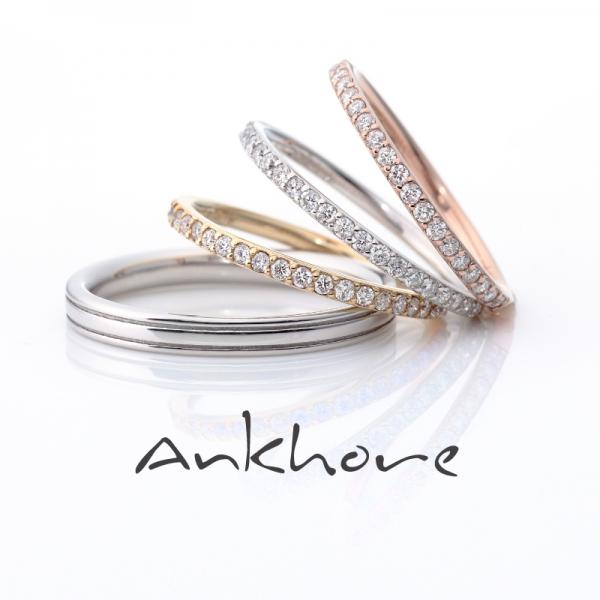 Ankhoreアンクオーレの結婚指輪でLUCE(ルーチェ)