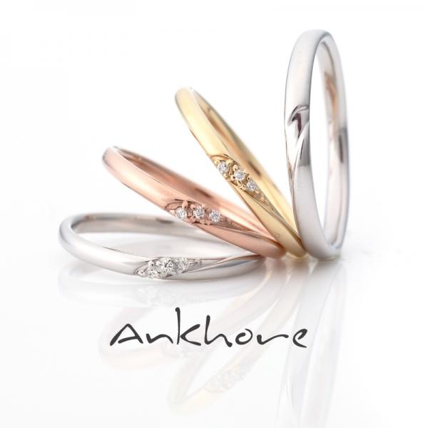 Ankhoreアンクオーレの結婚指輪でスペラーレ