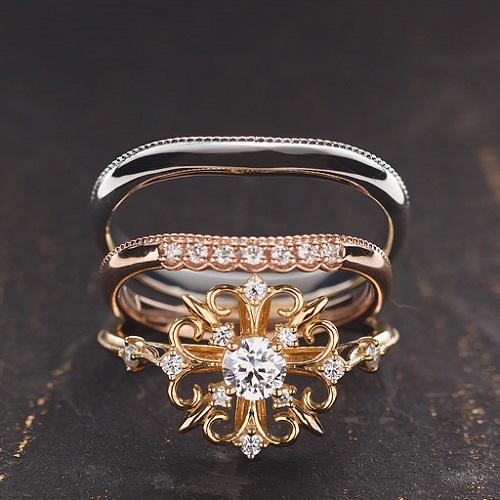 姫路結婚指輪・婚約指輪重ね付け|ALTERGO