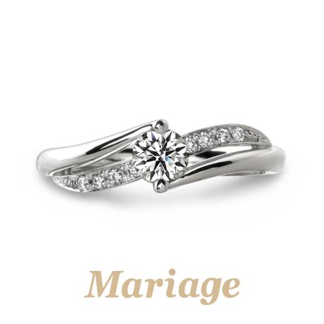 プロポーズにおすすめの婚約指輪マリアージュエント