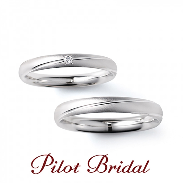 Pilot Bridalの結婚指輪【Pledge】パイロットブライダルのマリッジリング【プレッジ】
