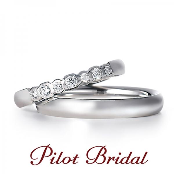 結婚指輪の買い替えにおすすめのデザインPilot Bridalプレジャー