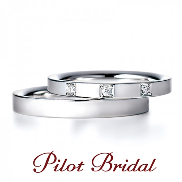 PilotBridalの結婚指輪【Pure】パイロットブライダルのマリッジリング【ピュア】