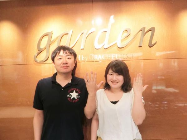 garden姫路口コミ【D.Terrace】結婚指輪