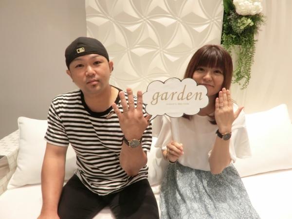 D.Terrace結婚指輪(マリッジリング)garden姫路評判