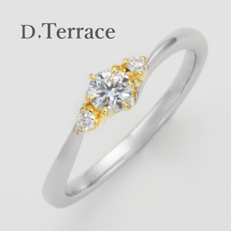 D.Terrace【ディーテラス】スヘルデ川婚約指輪(エンゲージリング)姫路