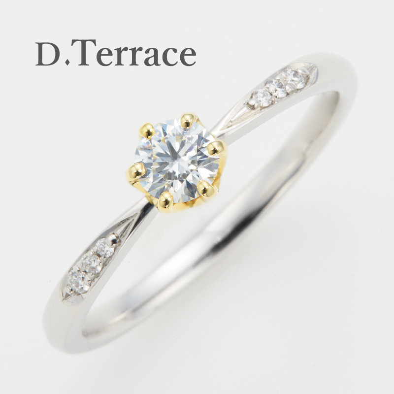 D.Terrace【ディーテラス】カテドラル婚約指輪(エンゲージリング)姫路
