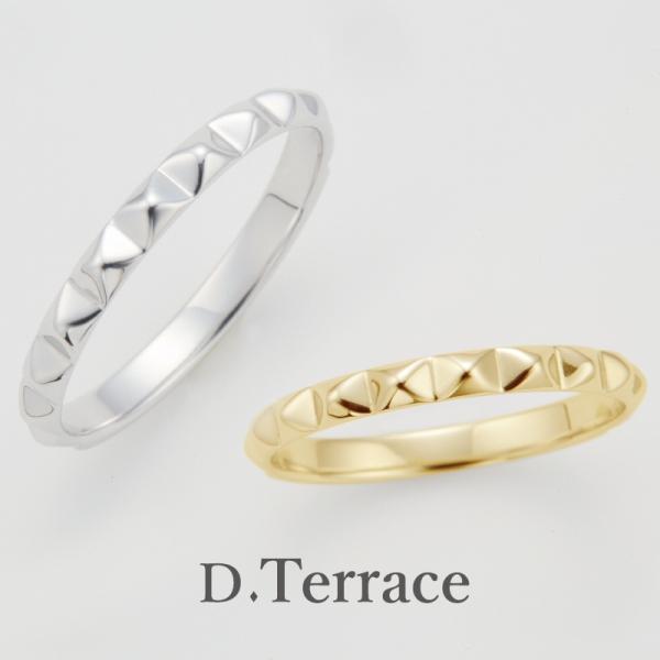 D.Terraceのカテドラル結婚指輪(マリッジリング)個性的な結婚指輪