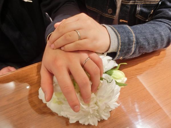 納得した指輪に決める事ができました。