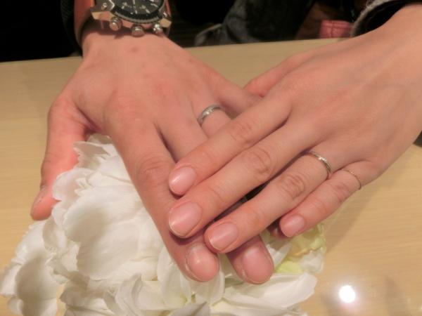 気に入った指輪が見つかって良かったです。