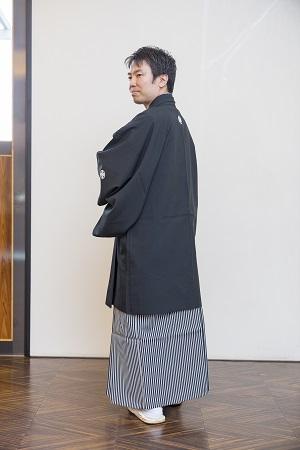 和装 袴 (男性用)バック