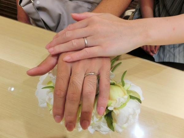 お気に入りの指輪。