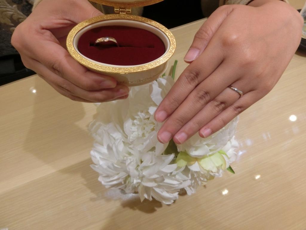 高砂市結婚指輪|美女と野獣
