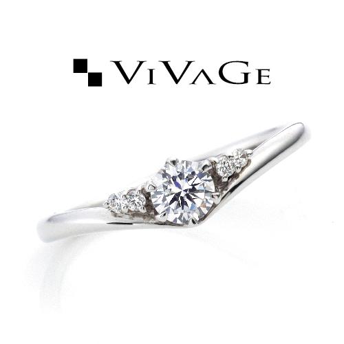 VIVAGE(ビバージュ)レヴリーの婚約指輪(エンゲージリング)の正規取扱店はgarden姫路