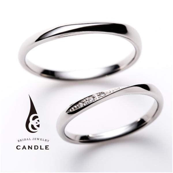 CANDLE【キャンドル】デコラ結婚指輪(マリッジリング)姫路