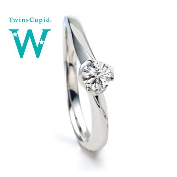 Twins Cupid/ツインズキューピッド婚約指輪(エンゲージリング)