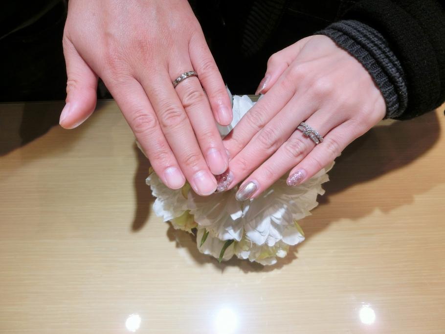 楽しく指輪が選べました!
