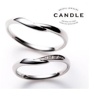 姫路で人気の結婚指輪ブランドCANDLE|フローティング