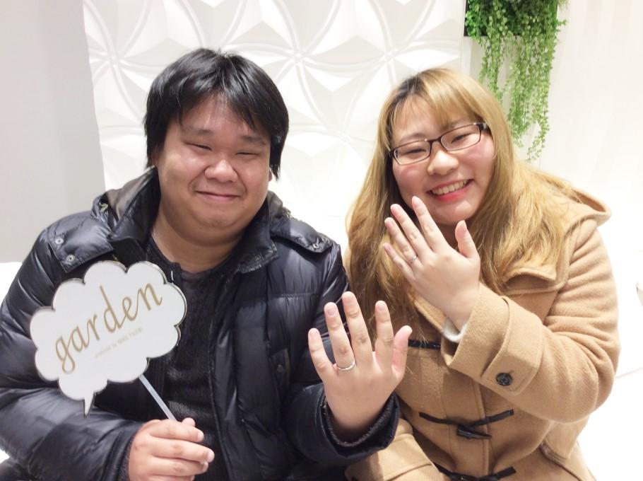 PAVEO CHOCOLATとTHE KISS Anniversaryのマリッジリング【兵庫県 加古川市】