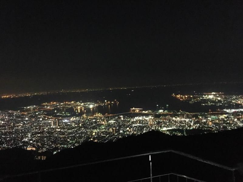 神戸・姫路サプライズプロポーズ 六甲山の夜景