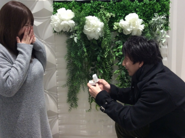 和ブランド IROノHAの婚約指輪をご成約頂きました〈姫路市〉