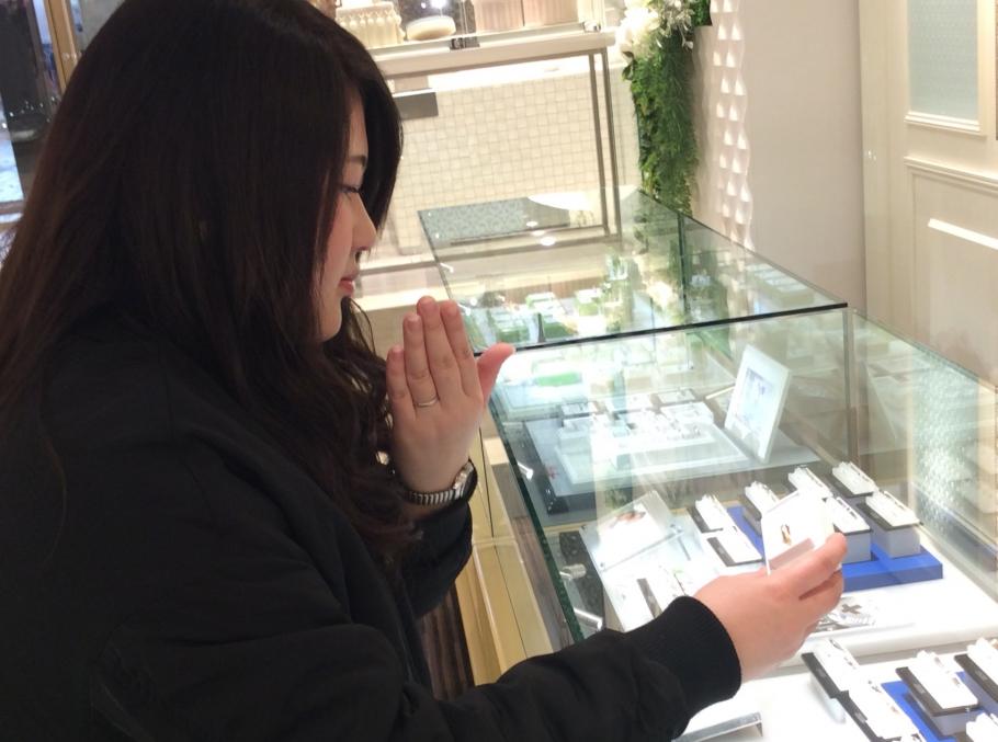 鍛造製法の結婚指輪、FISCHERをご成約頂きました!(兵庫県神戸市)
