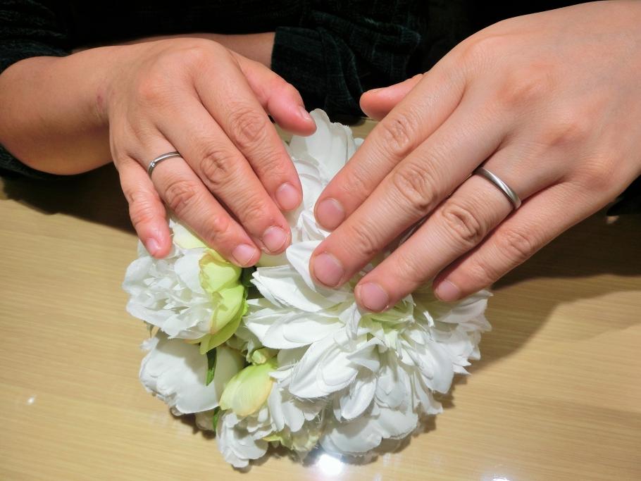 ドイツブランドFISCHERの結婚指輪をご成約頂きました。<兵庫県 姫路市>