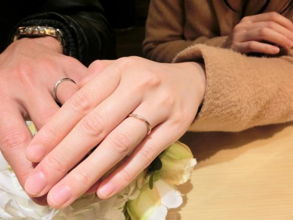 LIAISONの結婚指輪ごを成約頂きました。<加東市/加西市>