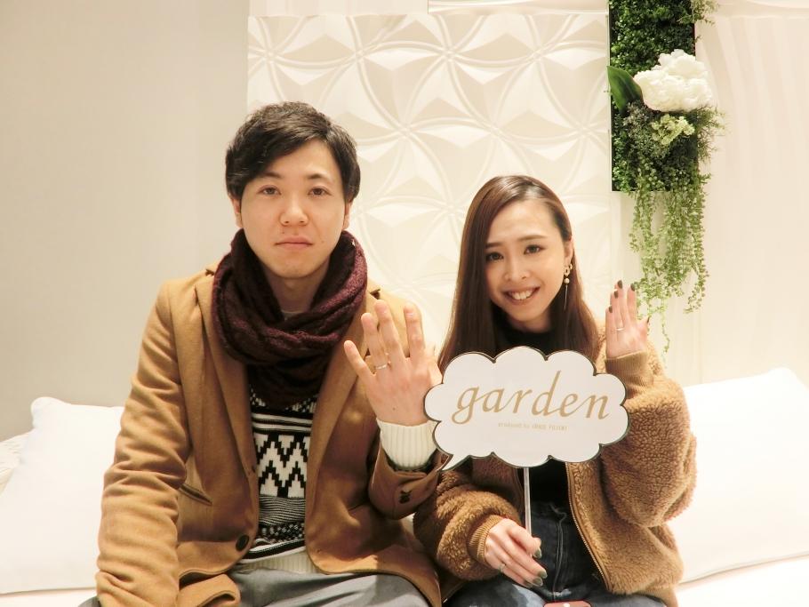 AnkhoreとPulitoの結婚指輪をご成約頂きました。<兵庫県 神戸市>