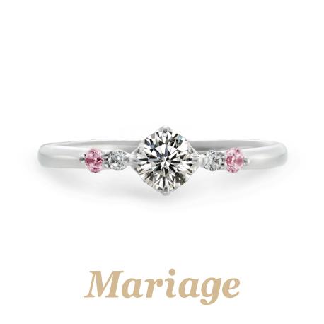 マリアージュエント婚約指輪