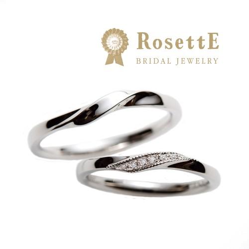 おしゃれな結婚指輪(マリッジリング)RosettE泉