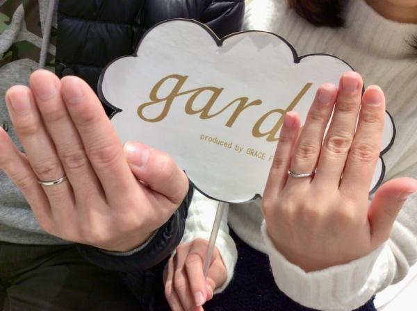 朝来市 ご婚約指輪garden姫路オリジナル・ご結婚指輪Pulito