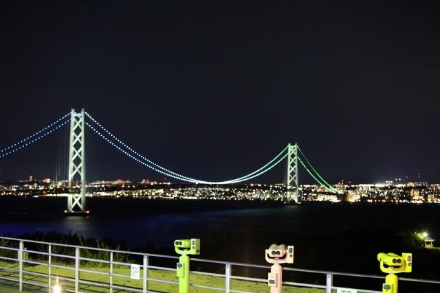 神戸・三ノ宮のプロポーズスポット明石海峡大橋