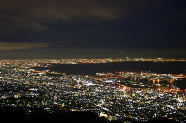 神戸のプロポーズスポット六甲山