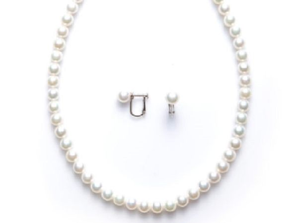 姫路の本真珠(パール)ネックレス|花珠真珠