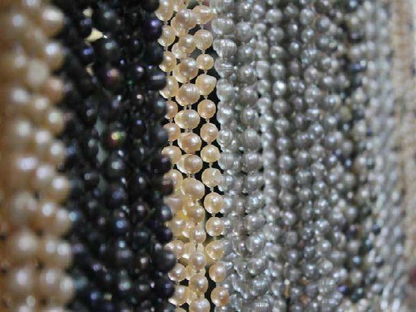 真珠(パール)の色について説明